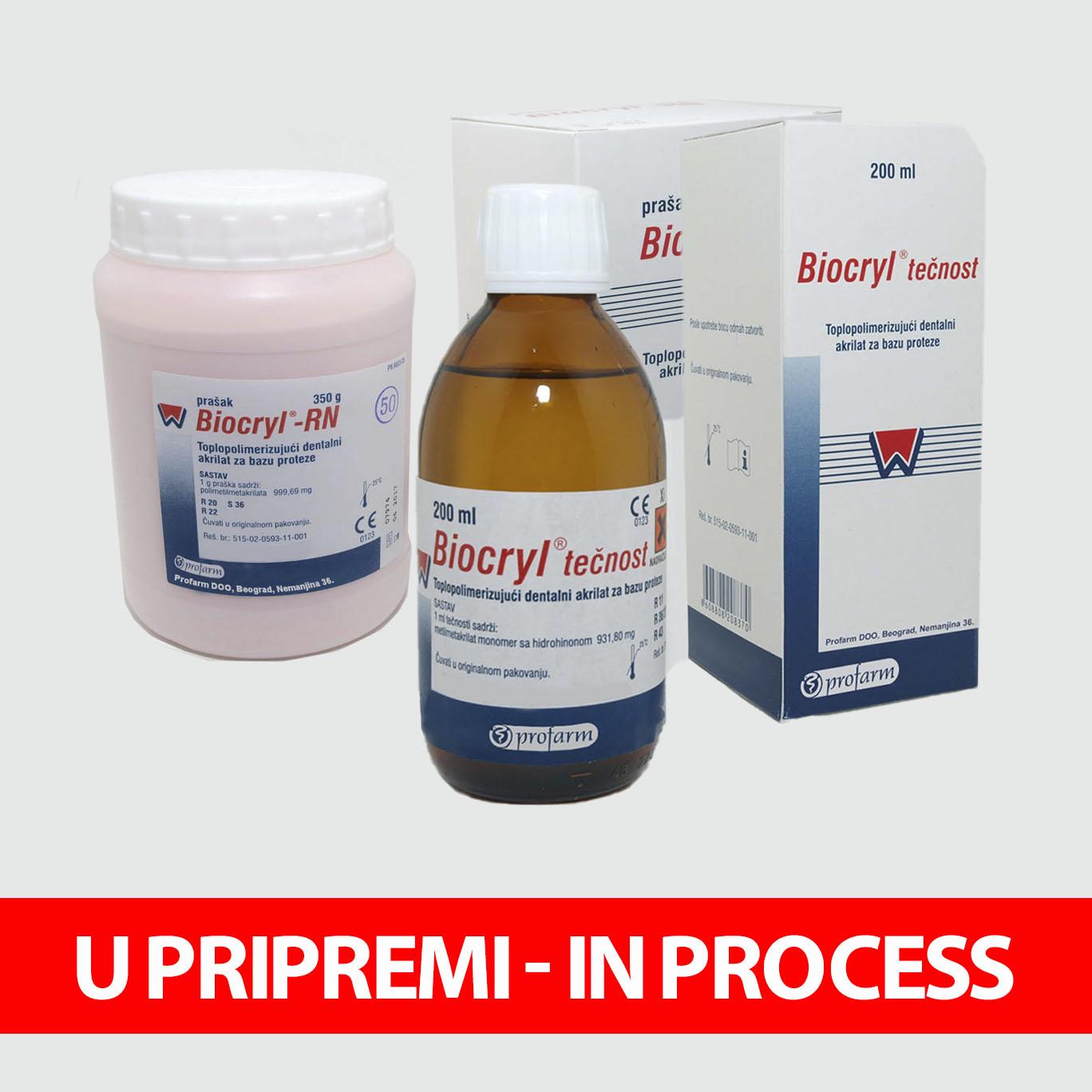 BIOCRYL® RN prah / BIOCRYL® tečnost
