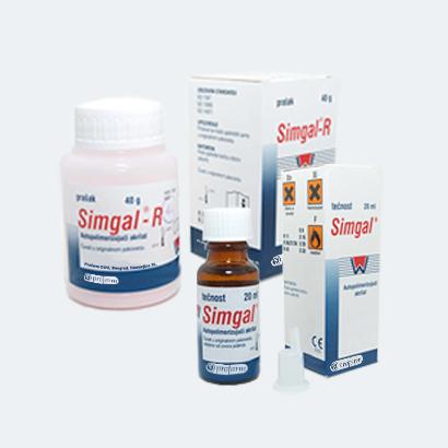 SIMGAL® R prah / SIMGAL® tečnost